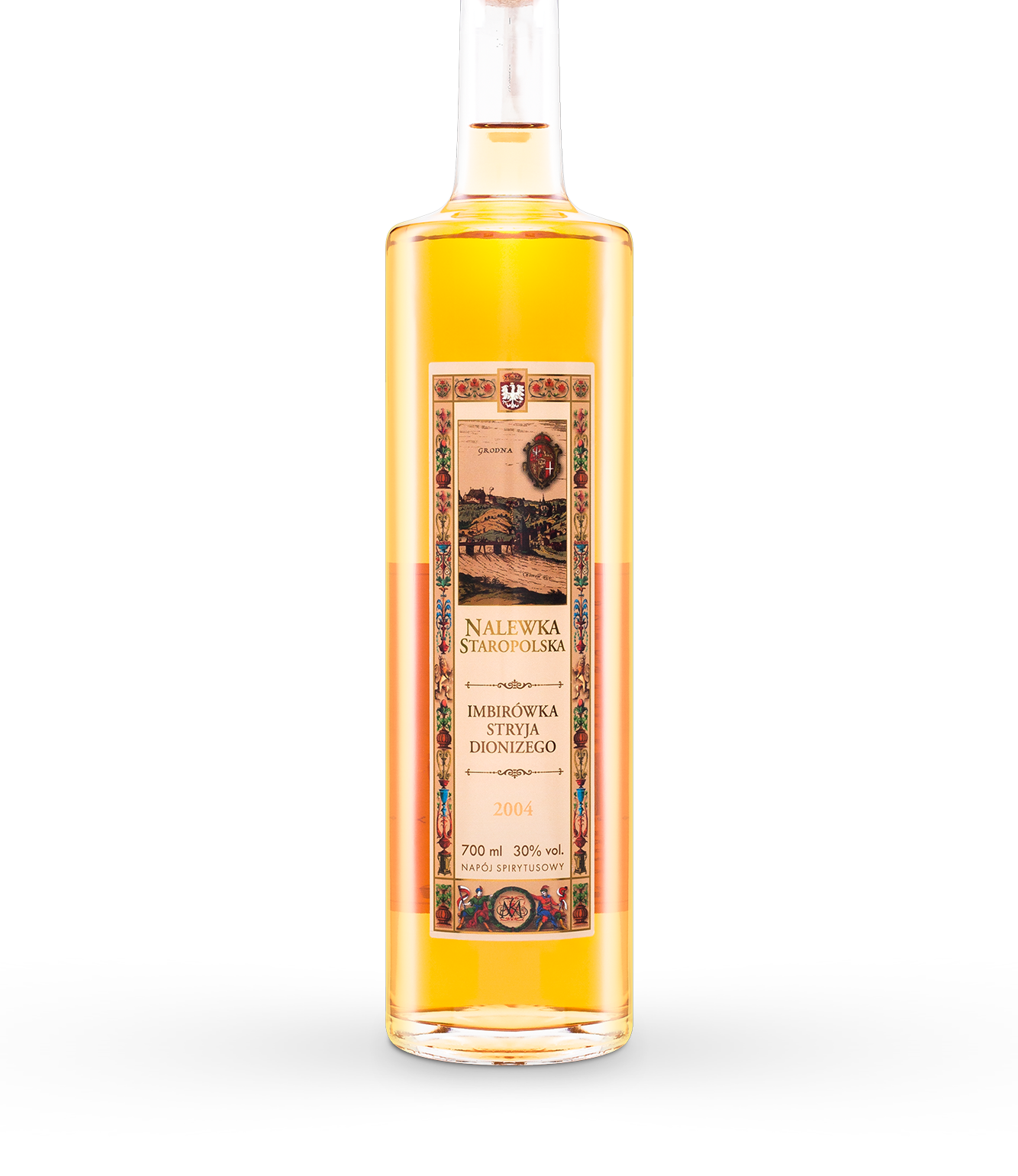 Uncle Dionysius ginger tincture o pojemności - 700