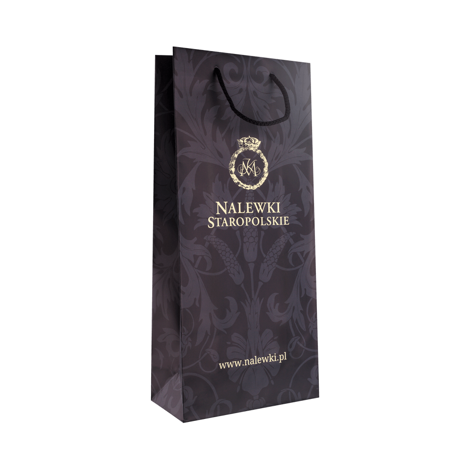 Paper bag - black