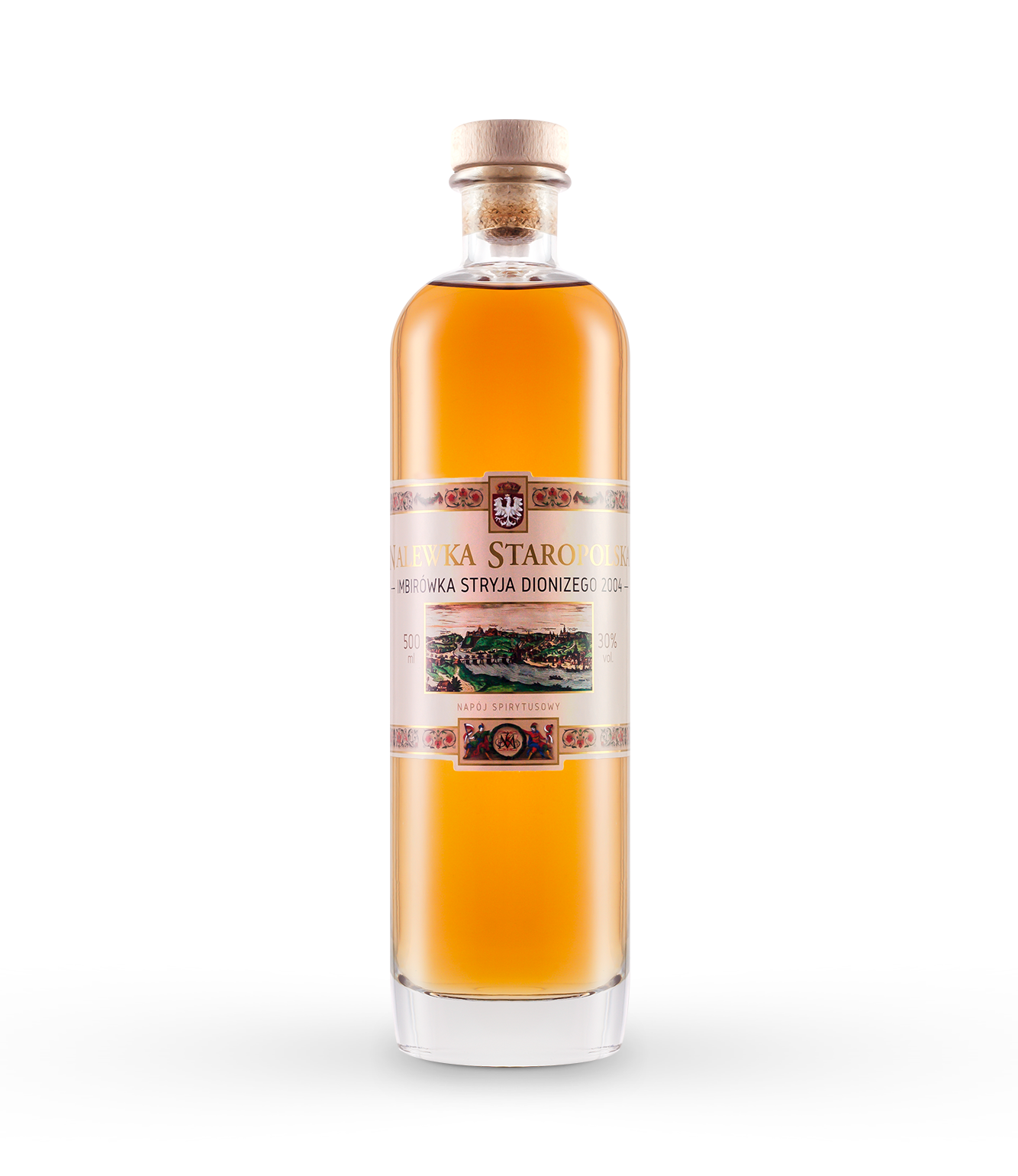 Uncle Dionysius ginger tincture o pojemności - 500